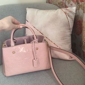 Louis Vuitton Montaigne BB Rose Ballerine